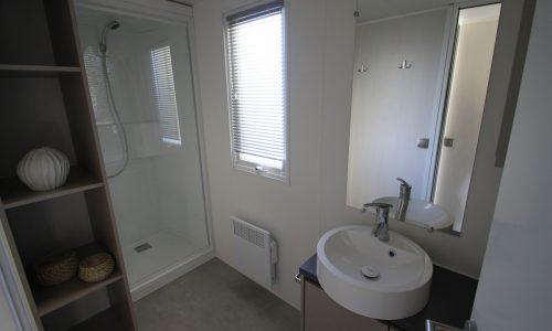 Mobil home Excellence 4/6 places-salle de bain