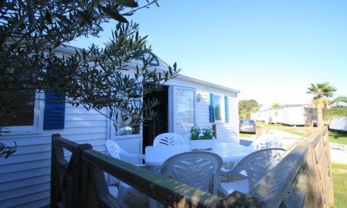 Terrasse mobil home économique 4-6 places