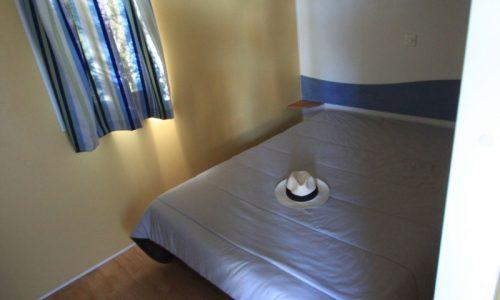 Mobil home économique 4/6 places- chambre parent