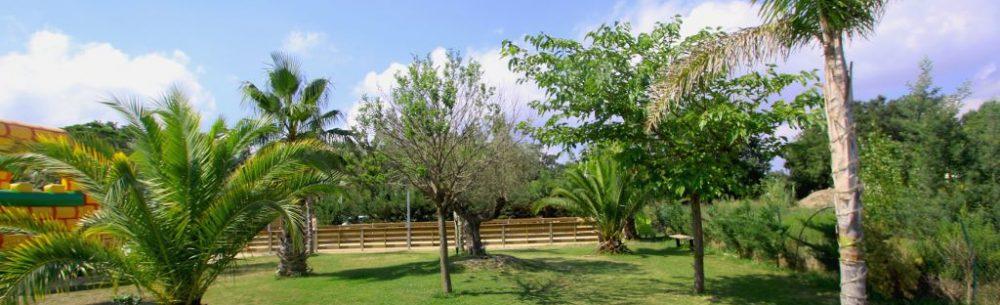 Jardin espace de loisirs